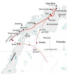 Oslo-Capo-Nord-Isole-Lofoten