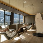 Sala relax the sound of wood con Resonance piano